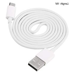 ShepoIseven 1/2/3M Super Long 5C 2A Micro USB Data Cable Pho