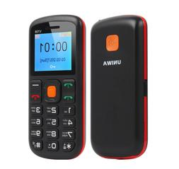 1.77in Cell Phone UNLOCKED For Elderly People GSM SOS Button