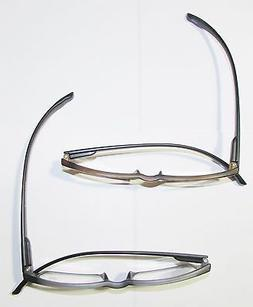 1 Extra long temples READING GLASSES  Spring frames Black or