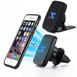 Magnetic Phone Car Mount 2in1 Design, Fits Air Vent, Windshi