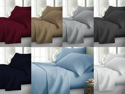 100% Percale Cotton LUXURIOUS Bedding Set Queen King All Siz