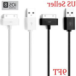 10FT 3M EXTRA LONG 30-PIN USB CHARGE DATA SYNC TRANSFER CABL