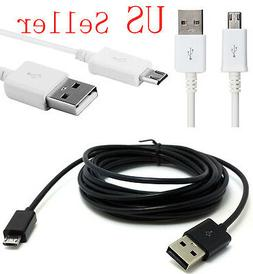 10FT 3M Extra Long Micro USB 2.0 Data Charger Cable Cell Pho