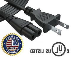 12Ft Extra Long AC Wall Power Cord for PlayStation PS2, PS3