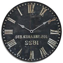 1822 Old Sheriffs Wall Clock, Available in 8 sizes, Most Siz