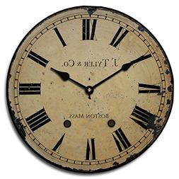 1910 English Longcase Wall Clock, Available in 8 Sizes, Most