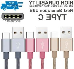 1M2M Extra Long Braided Fast USB-C 3.1 Type C To USB 3.0 Dat