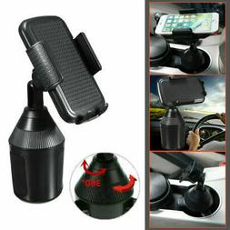1X Adjustable Gooseneck Cup Holder Car Mount Rotatable For C