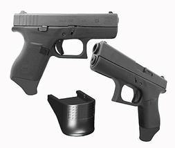 2 Pack .875 Inch Extra Long Grip Extension Fits Glock 43 G43