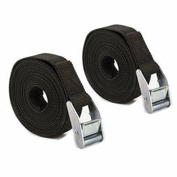 2 pack Extra Long 24FT Heavy Duty Tie Down Straps with Cam B