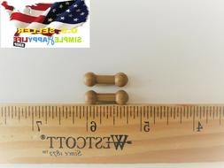 "2 x 1/6 Extra Long Foot Leg Pegs Joint Adapter 3/4"" Long for"