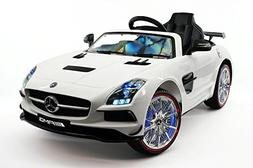 2017 MERCEDES SLS AMG 12V Battery Powered Ride on Toy Car wi