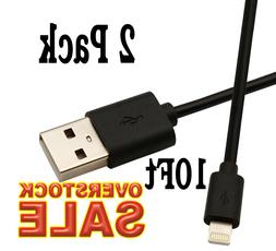 2x USB Cable Charger 10Ft/3M compatible with Lightning oem o