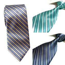 3 Colors Extra Long Tie Microfibre Woven Polyester Mens XL S