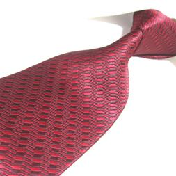 3 Styles Extra Long Microfibre Tie Woven Jacquard  XL Polyes