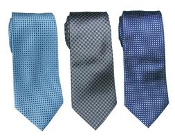 3 Styles Extra Long Tie Dots Men's Microfibre Woven Jacquard