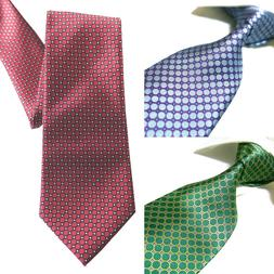 3 Styles Extra Long Tie Microfibre Woven Jacquard Polyester
