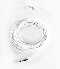 OMNIHIL 30ft' 3.5mm Headset Audio AUX Extension Cable Compat