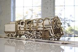 Ugears 3D Model Steam Locomotive with Tender