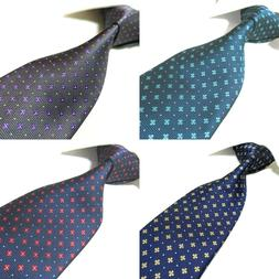 5 Colors Extra Long Tie Floral Microfibre Woven Men's Polyes