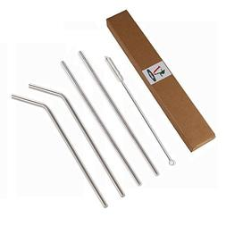 4 Extra Long Stainless Steel Drinking Straws For Yeti RTIC S