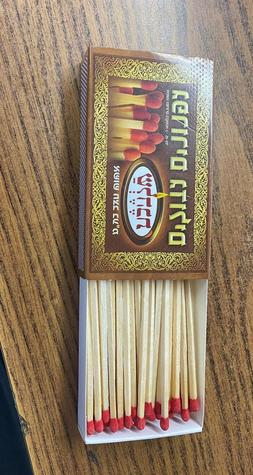 4 inch Extra  Long Wood Matches Security for Barbecues, Stov