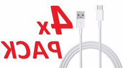 4x 6ft Extra Long Rapid Charger Fast USB Type C Charging Cab