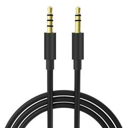 5FT Extra Long Male to Universal Aux Audio Stereo Cable for