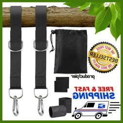 5ft Extra Long Tree Swing Hanging Straps Kit Holds 2000 lbs