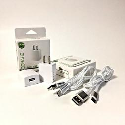 6 FT White LG Fast Wall Charger + Extra Long 6ft Type C Cabl