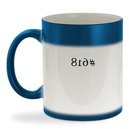 #618 - 11oz Hashtag Color Changing Sturdy Ceramic Coffee Cup