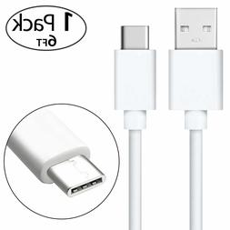 6ft Extra Long Fast Rapid Charging Type C USB Charger Cable