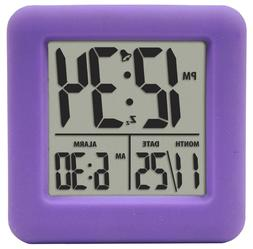Equity by La Crosse 70904 Equity Soft Cube Lcd Alarm Clock P