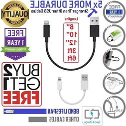 """8"""",10"""",12"""",3ft,6ft,Cable For iPhone 7,8,X, iPad Pro,Air,Char"""