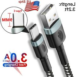 9mm Extra Long Type C Tip USB Charger Data Cable For Blackvi