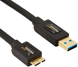AmazonBasics USB 3.0 Cable - A-Male to Micro-B - 9 Feet