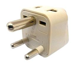 CKITZE BA-10 Grounded Universal 2 in 1 Plug Adapter Type D f