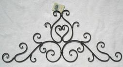 Decorative Wrought Iron Metal Wall Plaque