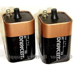 Duracell Coppertop Battery - 6 Volt, Single-Pk, Model# MN908