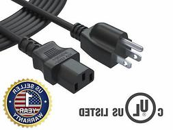 AC Power Cord Cable for Westinghouse LCD TV 12 Feet 12Ft Ext