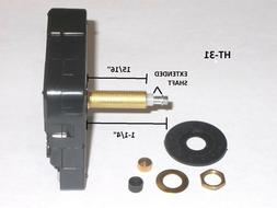 High Torque Clock Movement  with Extended Shaft For Long Han