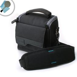 Impact-Resistant Camera Case with Adjustable Interior Divide