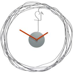 """Infinity Instruments Wire Transfer 14"""" Wall Clock"""