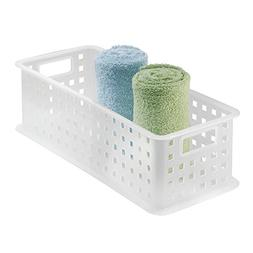 InterDesign Storage Organizer Basket, for Bathroom, Health a