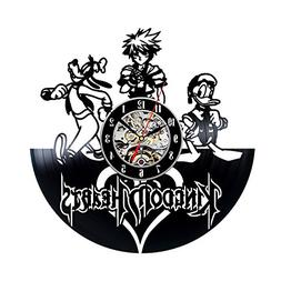 Kingdom Hearts Vinyl Record Wall Clock - Decorate your home