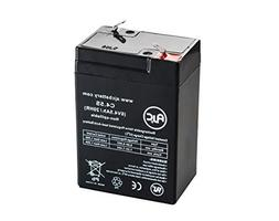 Long Way LW-3FM4.5 Sealed Lead Acid - AGM - VRLA Battery - T
