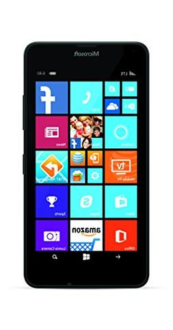 Microsoft Lumia 640 Windows 8.1 Phone, 4G LTE 5 Inch Display