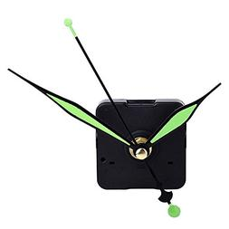 Mudder Quartz Clock Movement Mechanism Green Hands DIY Repla