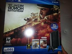 PS3 Slim 250GB Medal of Honor: Warfighter Bundle