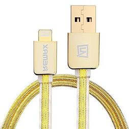REMAX® Hight Quality Gold USB Cable Fast charging for iphon